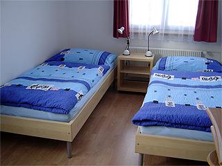 Zweites Schlafzimmer im Paterre