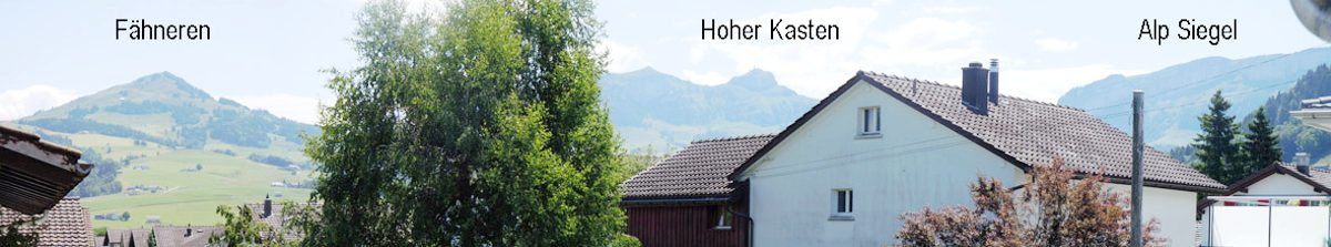 View to Hoher Kastem
